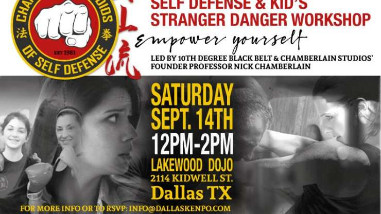 FREE Community Self-Defense Workshop @ Lakewood