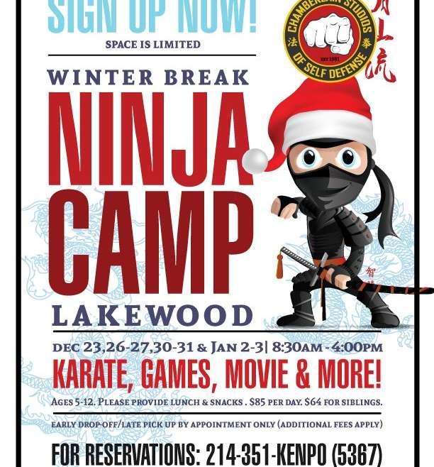 Winter Ninja Catch-Up Camp!