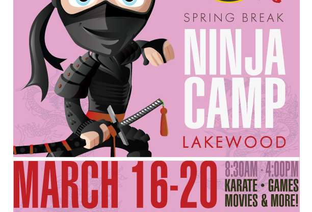 Spring Break Ninja Camp!