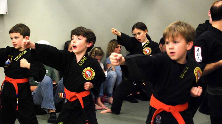 February 2020 Kids Belt Test Photos
