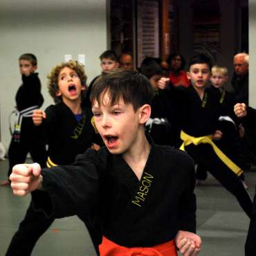 Kids Kenpo / Martial Arts Belt Test - February 2020 at the Lakewood Dojo in Dallas