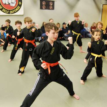 Kids Karate / Martial Arts Belt Test - February 2020 at the Lakewood Dojo in Dallas