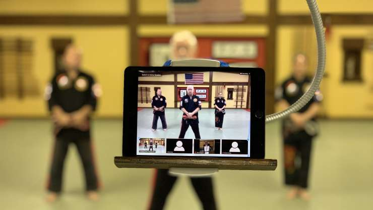 Introducing Streaming Karate Classes!