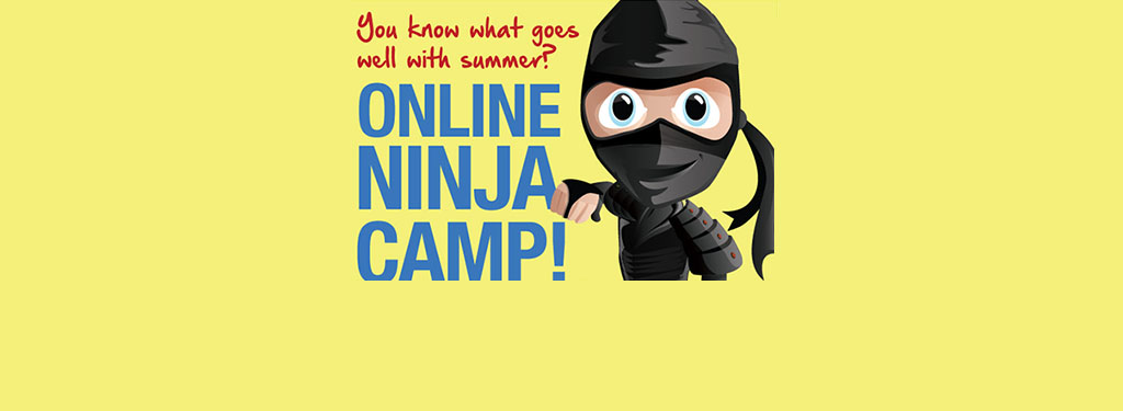 Streaming / Online Ninja Summer Karate Camps over Zoom from our Dojos in Dallas, Texas