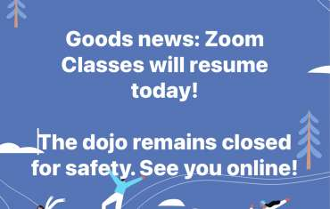 Zoom Classes Resuming 2/18