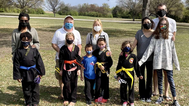 March Kids Belt Test