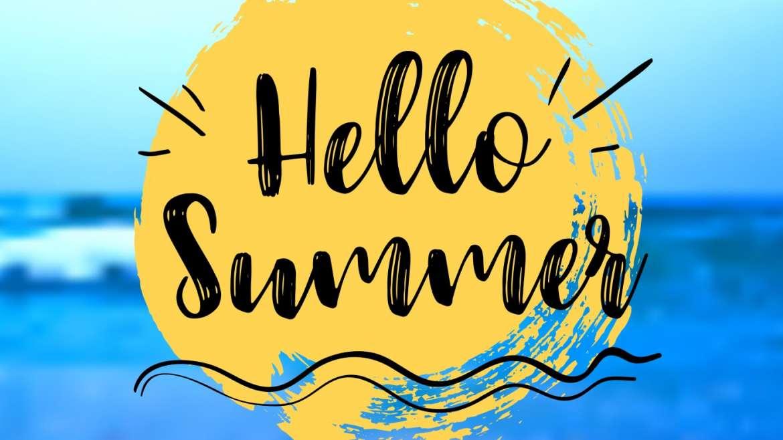 New Summer 2021 Schedule